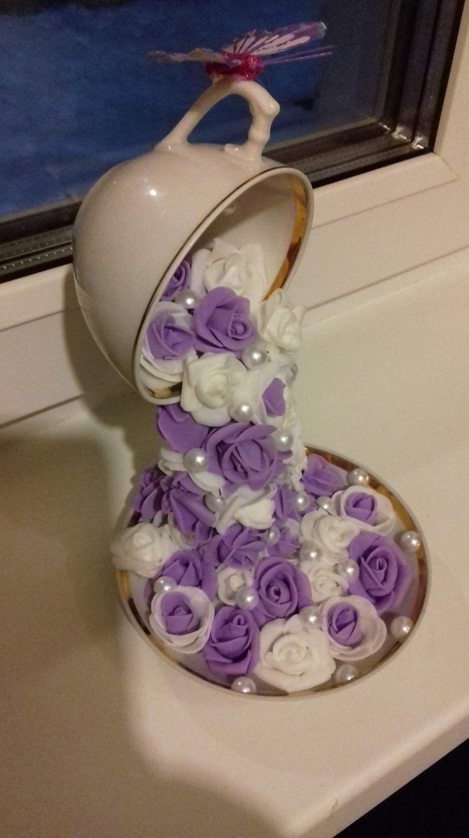 Pin de Santas Secret Shop en Tea Cup Crafts | Pinterest | Cascadas ...