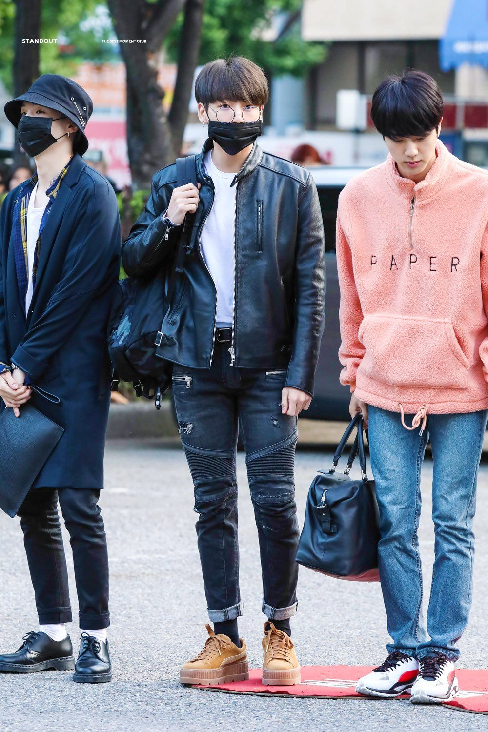 All of them. They're all serving LOOKS | BTS Outfits in 2019