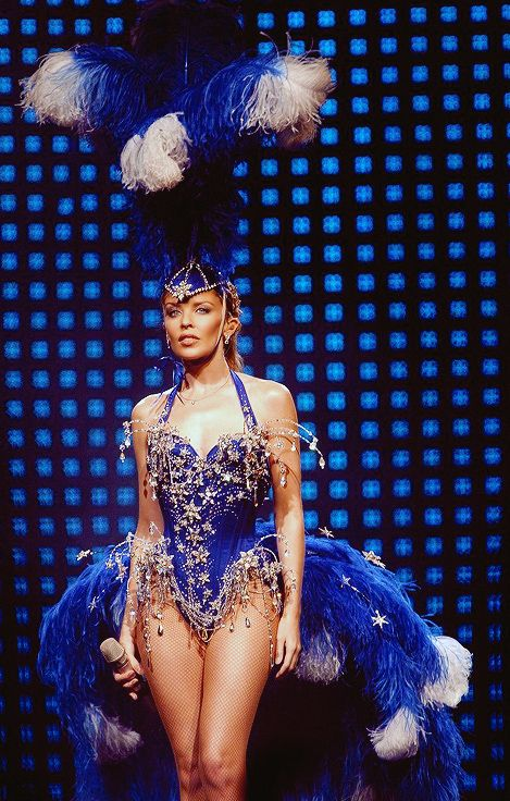 Minogues kylie greatest showgirl outfits time forecast to wear for spring in 2019