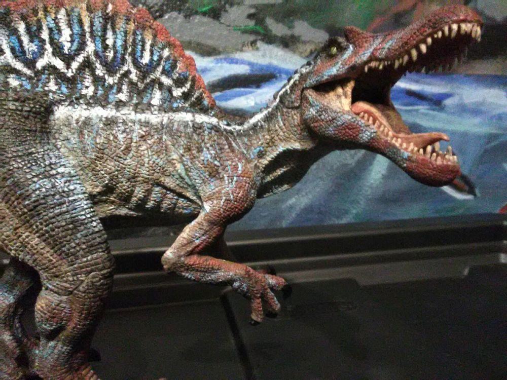 Jurassic Park III Movie Jurassic World Papo Spinosaurus