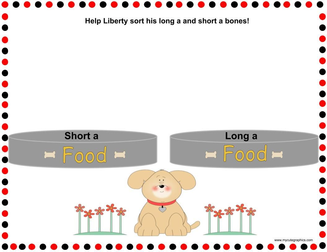 Pin On Long And Short Vowel Phonic Sorts