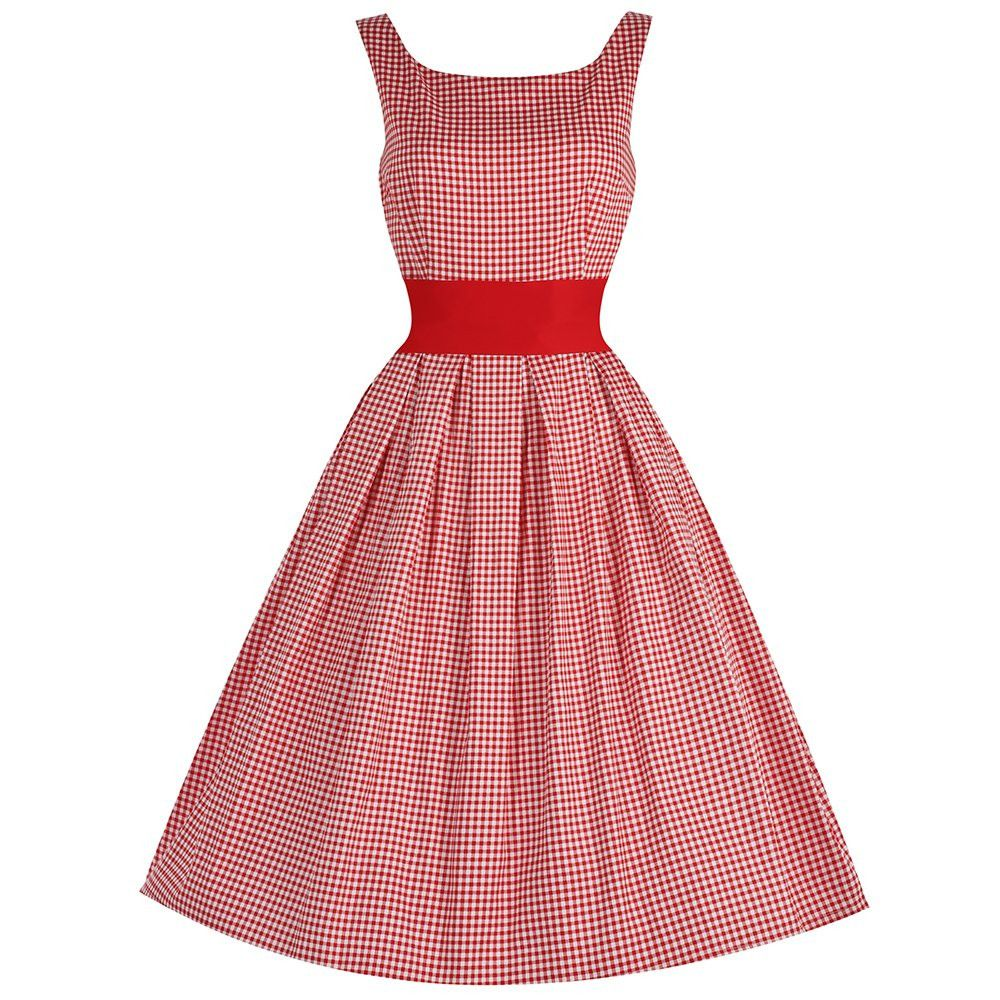 Lana\' Red Gingham Party Dress | Wear | Pinterest