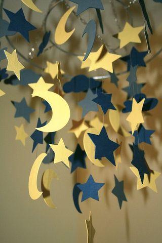بالصور أفكار رائعة لتزيين منزلك فى رمضان Ramadan Crafts Ramadan Decorations Paper Decorations