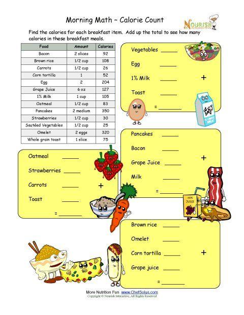 Math And Computation Worksheet For Elementary School Children Using
