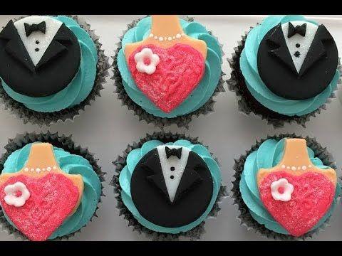 Formal Wear Cupcake Toppers Part 1 Tuxedo Topper