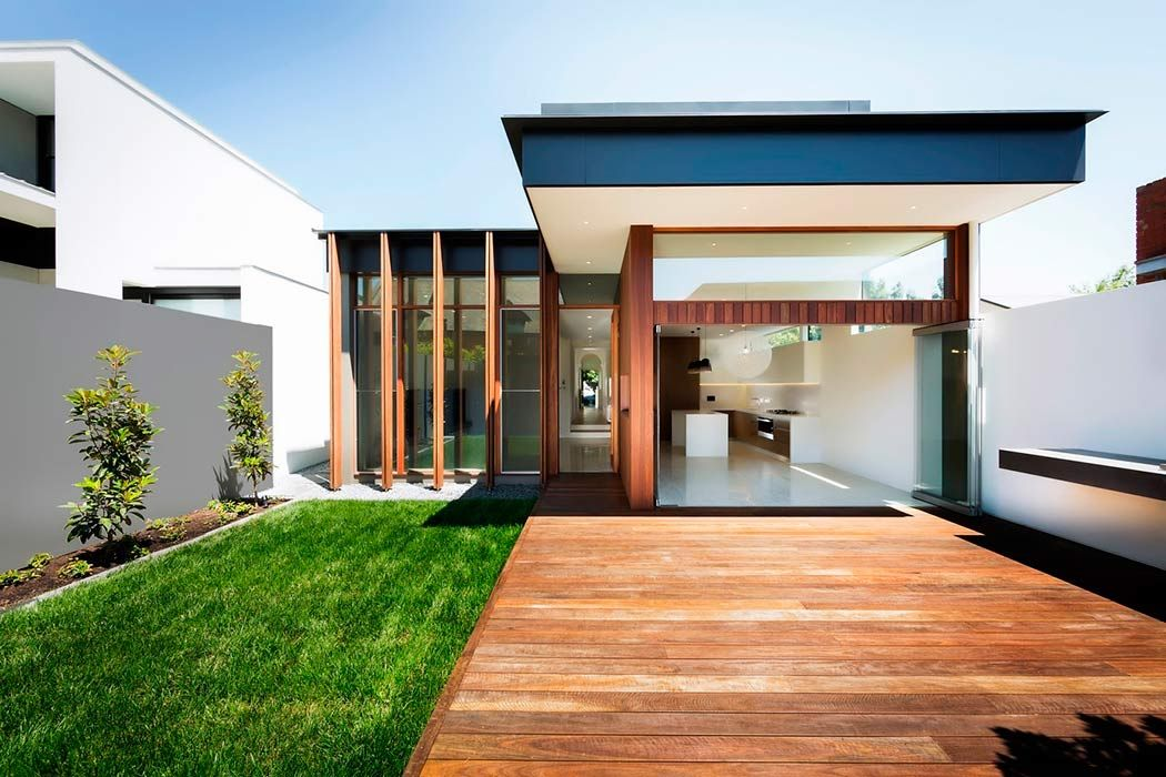 50 fotos de fachadas de casas modernas peque as bonitas for Modelos de casas pequenas y bonitas