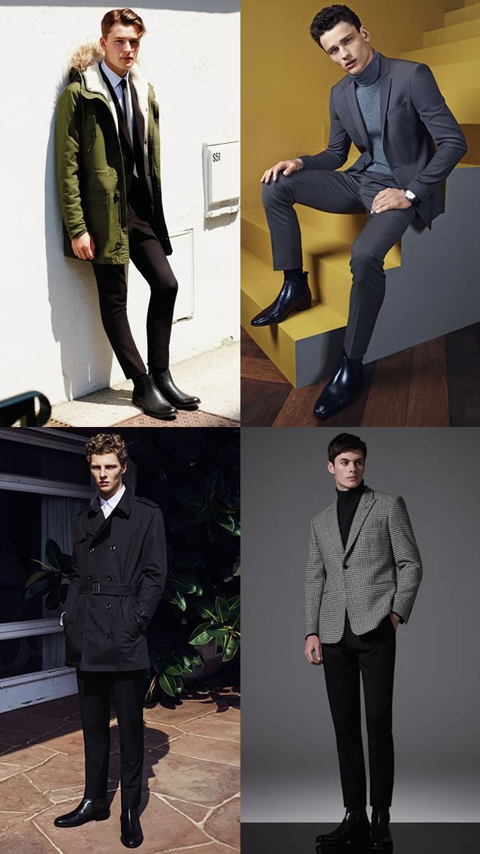 Men's Most Versatile Leather Shoes To Own: Black Chelsea Boot in  Smart/Formal Outfit