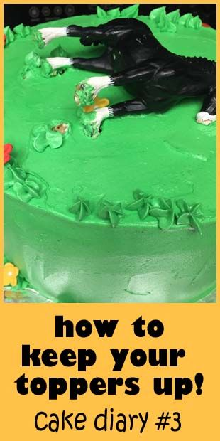 Using Toys As Cake Toppers How To Keep Them From Sinking Or Falling