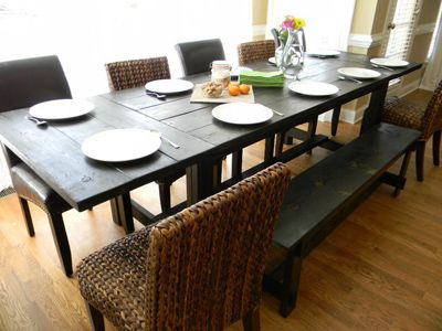 12 Best Dining Images On Pinterest | Kitchen Tables, Dining Room Tables And  Farm House Tables