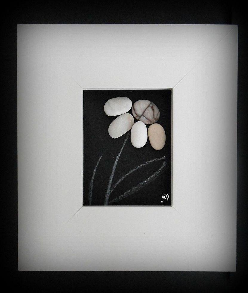 Make Your Own Pebble Art Frame Pebble Art Rock Art Stone Art