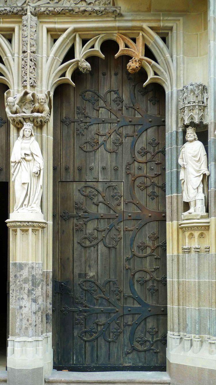 Deko, Die Türen, Türöffnung, Portal, Einzigartige Türen, Von Entwurf,  Europa, Gotische Fenster, Holzschnitzerei, Künstler, Fenster, In Door, ...
