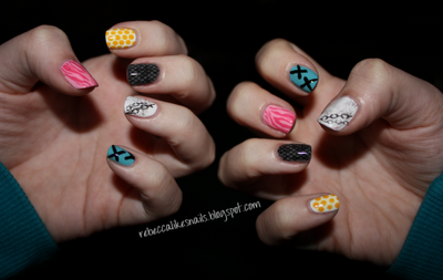 rebecca likes nails: Rihanna S nails (inspired by the music video!)
