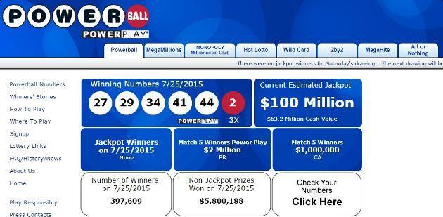 Lotto Jackpot Usa Spielen
