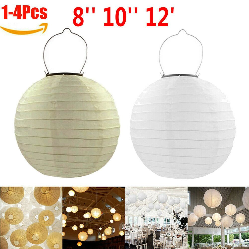 Waterproof Led Solar Cloth Chinese Lantern Festival Hanging Light Decor 8 12 Lantern Decor Ideas Of Lantern In 2020 Light Decorations Hanging Lights Lanterns Decor