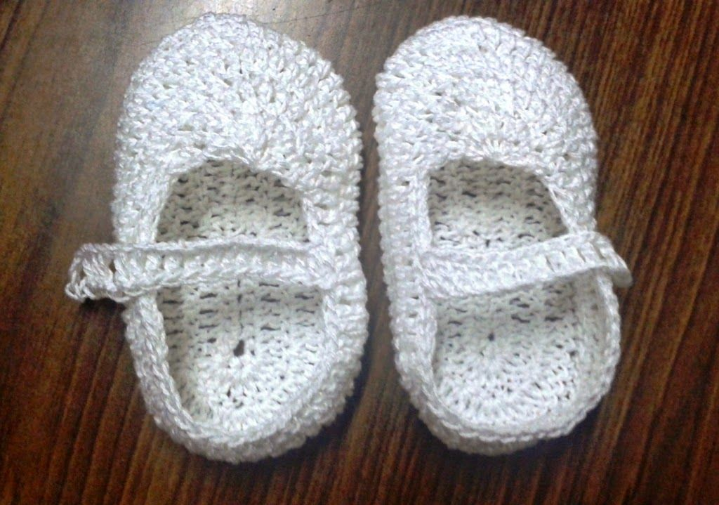 Free Crochet Patterns: Free crochet pattern for baby shoes | Crochet ...