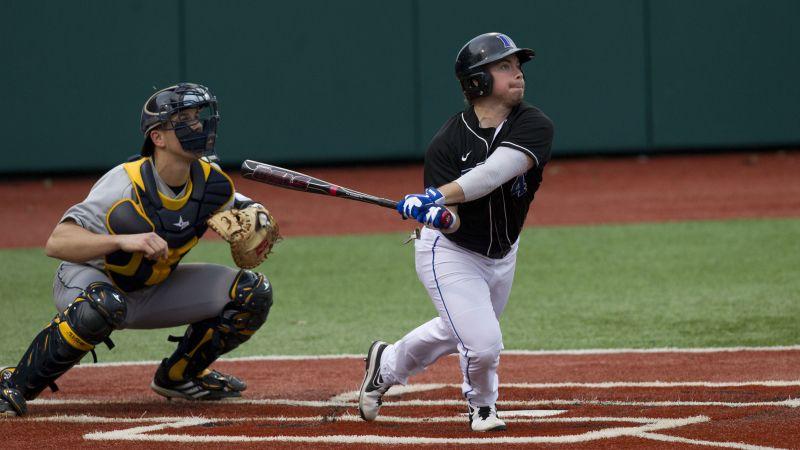Duke Opens Acc Slate Against No 1 Virginia Duke University Baseball Acc
