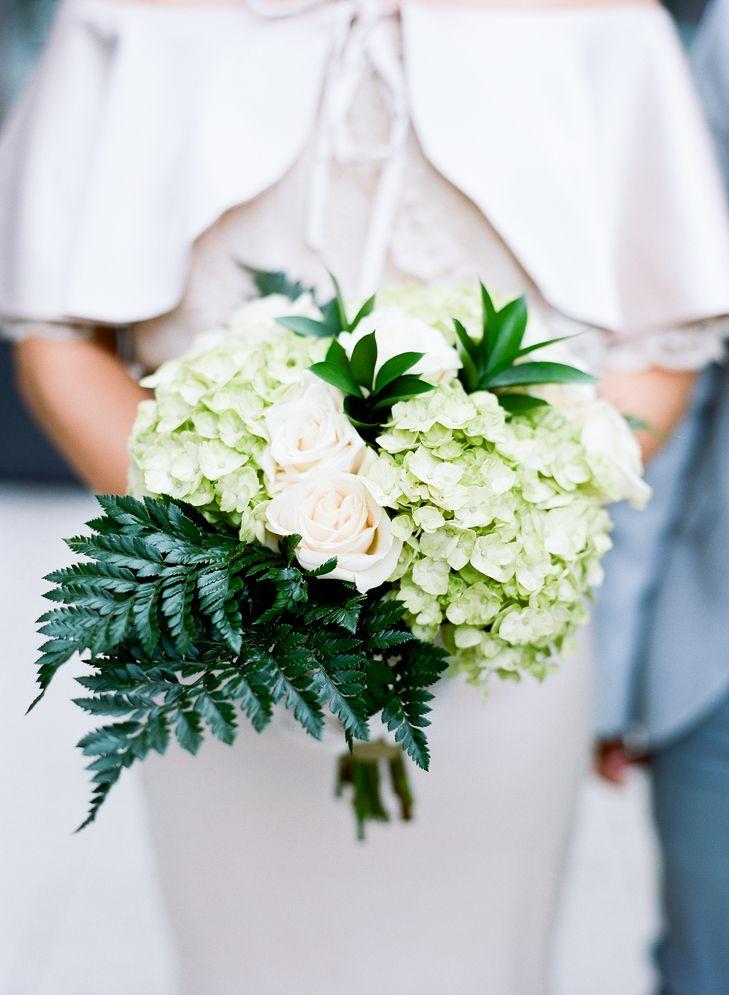 DIY Green Hydrangea and Fern Bouquet | Costco | Emma Freeman ...