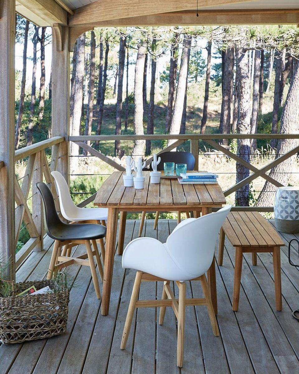 Ma Selection Deco De Tables De Jardin Shake My Blog Salon De Jardin Exterieur Table De Jardin Table De Jardin Bois
