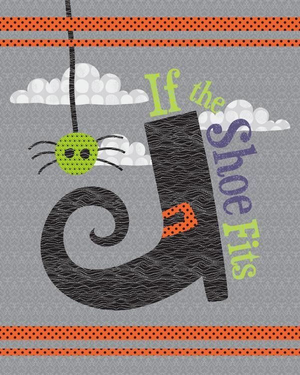 If The Shoe Fits Halloween Quilt