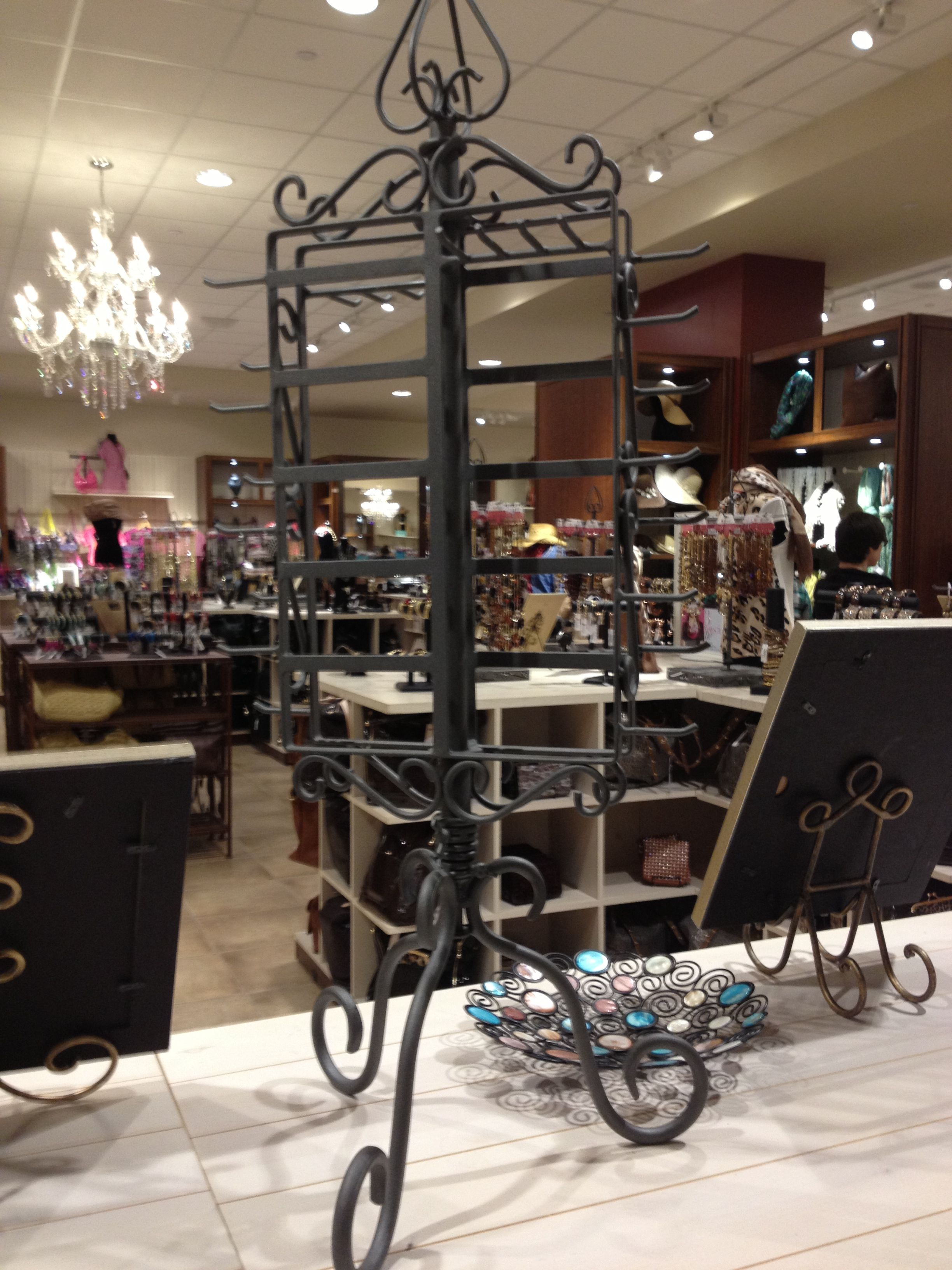 My new jewelry rack from Charming Charlie D Only 20 Charming