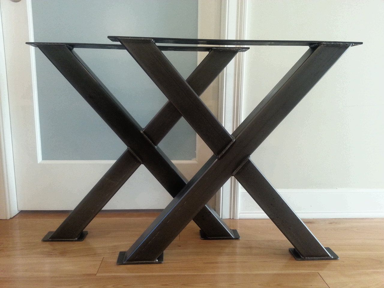 Metal Legs In Many Styles To Make Your Own Table, Desk Or Bench Also  Offering Hand Forged Shelf Brackets Paul J Camire Has Years Of Custom  Fabrication