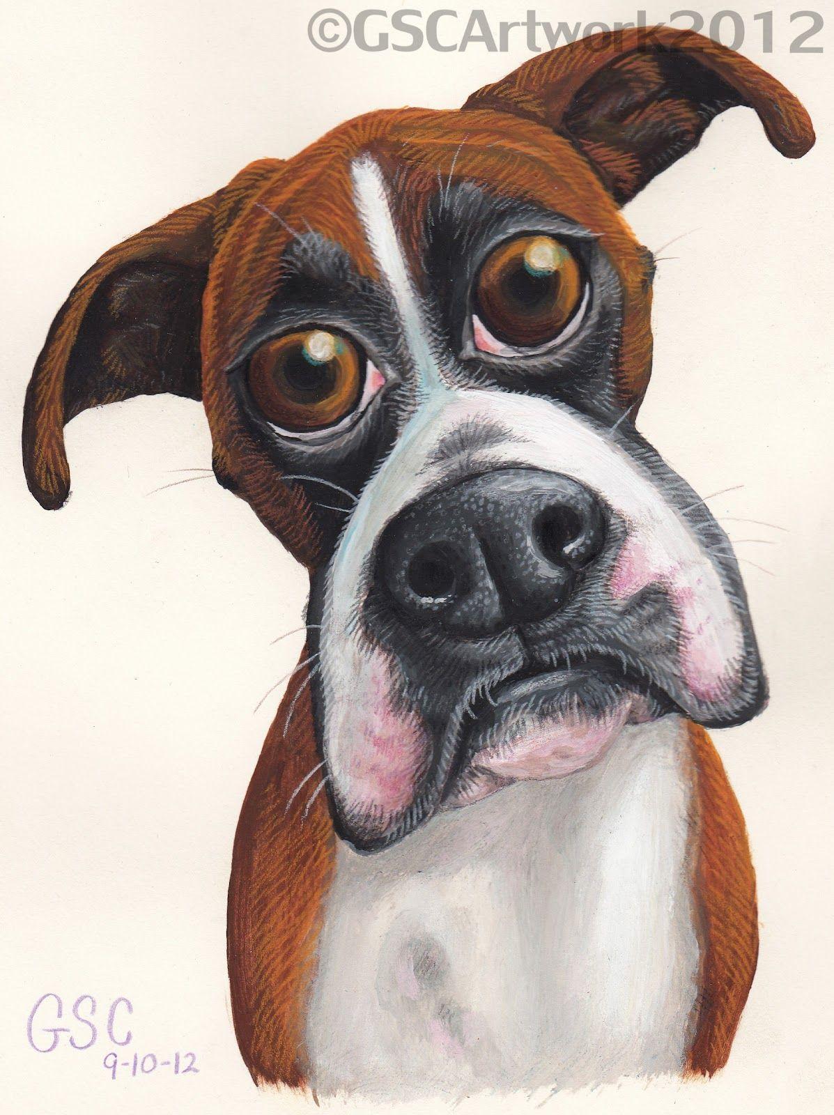 I'm back! Dog caricature, Animal caricature, Dog art