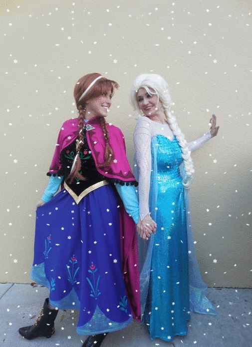 Elsa and Anna costumes for ladies  sc 1 st  Pinterest & Elsa and Anna costumes for ladies | Frozen | Pinterest | Anna frozen ...