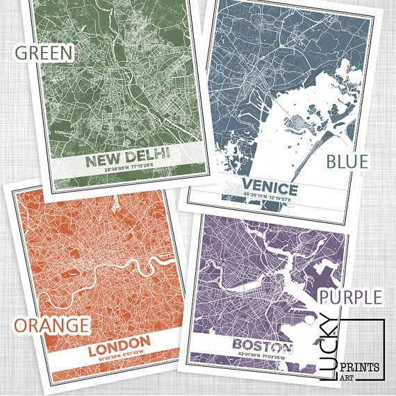 Custom city map custom map print map download personalized map custom city map custom map print map download personalized map map of the world custom print quote city posters color map art pdf gumiabroncs Image collections