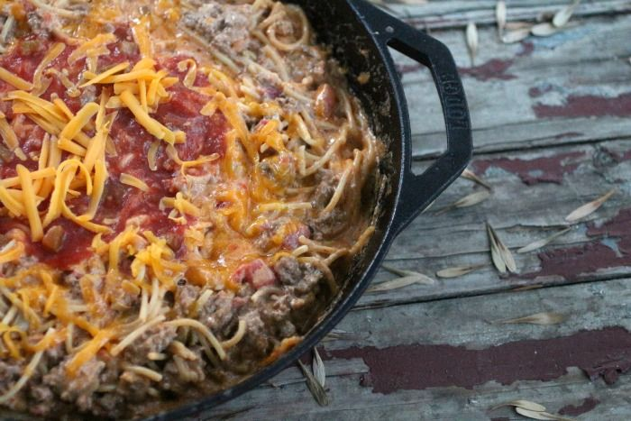 Mexican Spaghetti Skillet Dinner