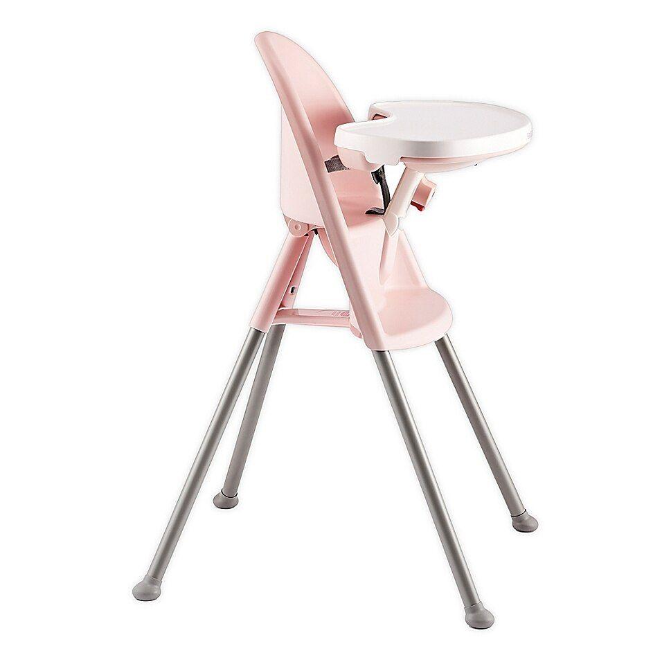 Babybjorn High Chair In Pink Greige High Chair Baby Feeding Chair