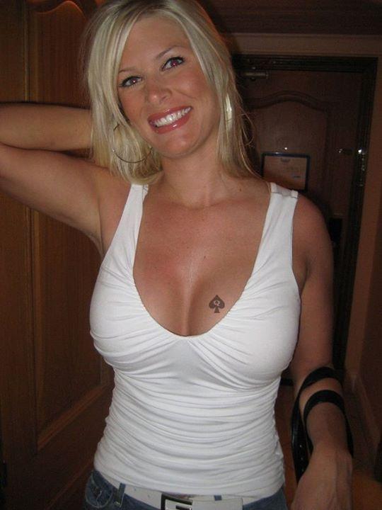 Wife cut tits
