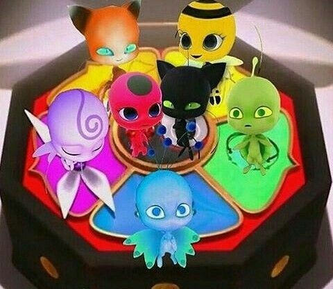 Coloriage Miraculous Kwami Paon.Kwami Squad Ally S Pins Miraculous Ladybug Chat Noir