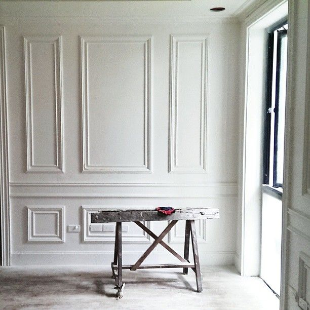 Woodwork. White Wood Walls. Style And Sustenance