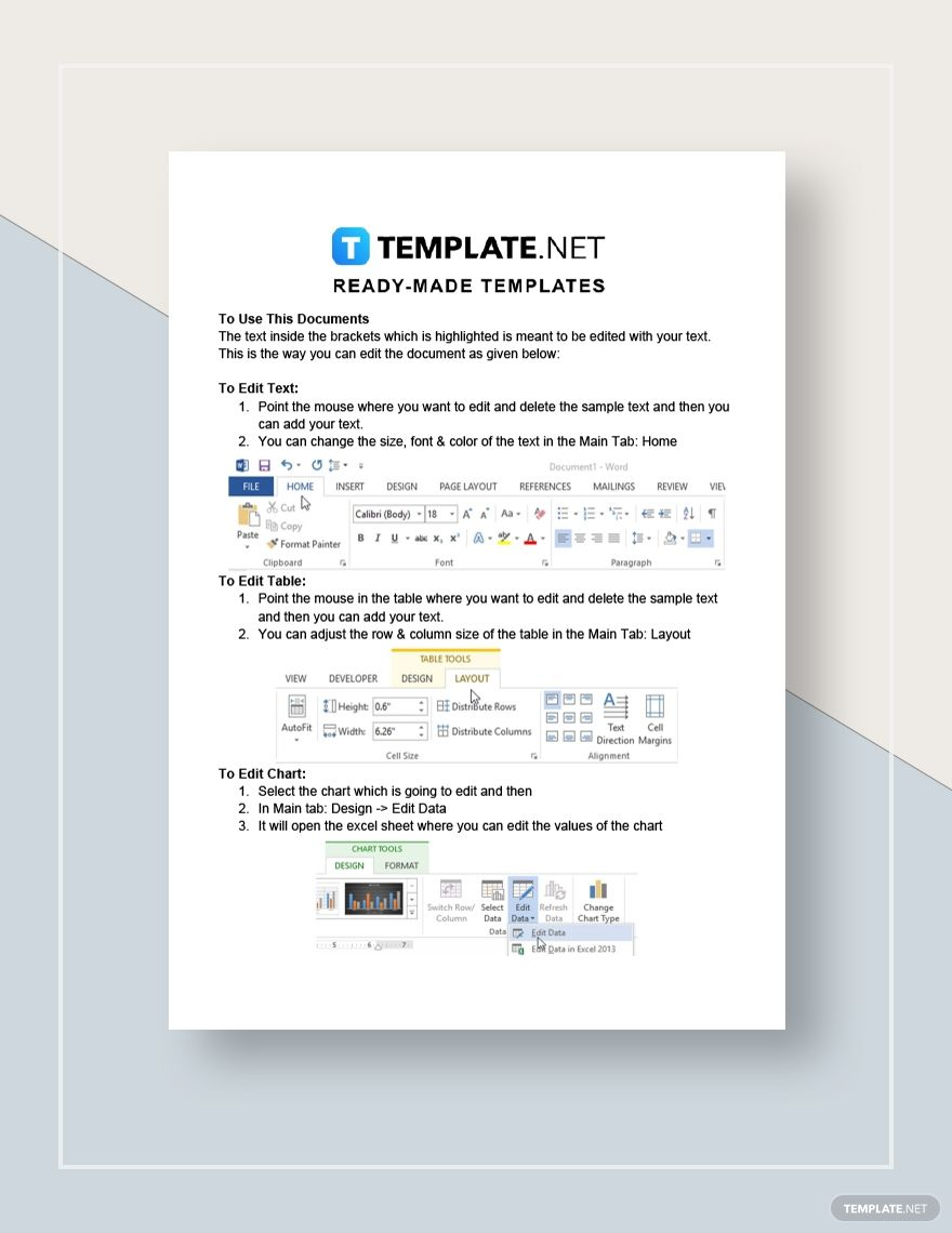 Company Competitive Analysis Marketing Plan Template Proposal