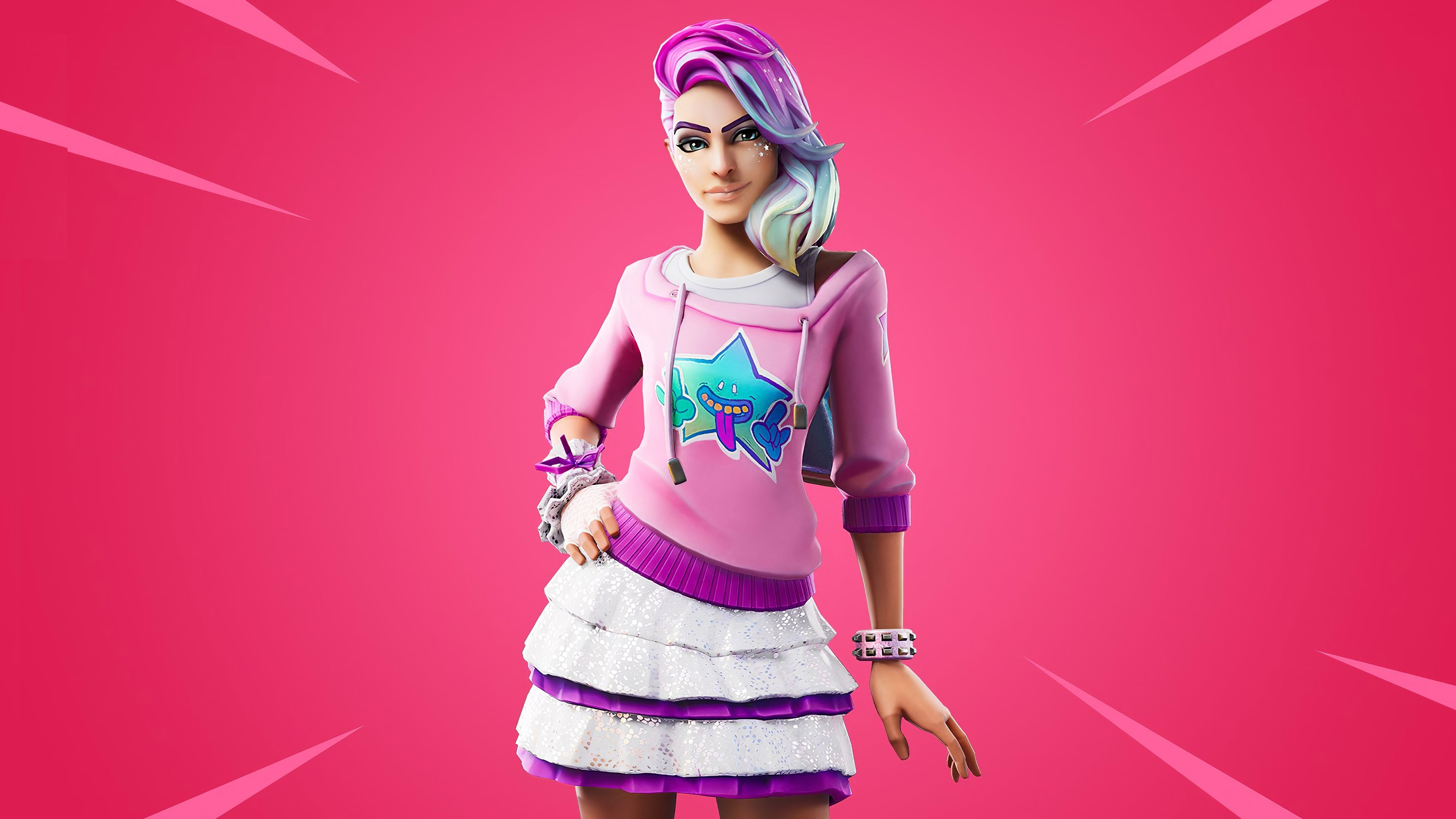 3840x2160 Fortnite chapter two, video game, 2019, Starlie