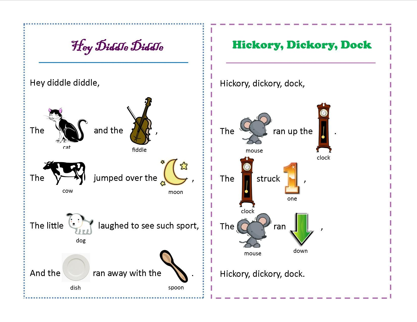 Early Literacy Kits Rhythm and Rhymes Literacy, Early
