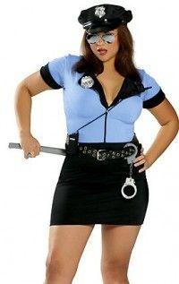 sexy plus size police women costume - #plus #plussize #curvy ...