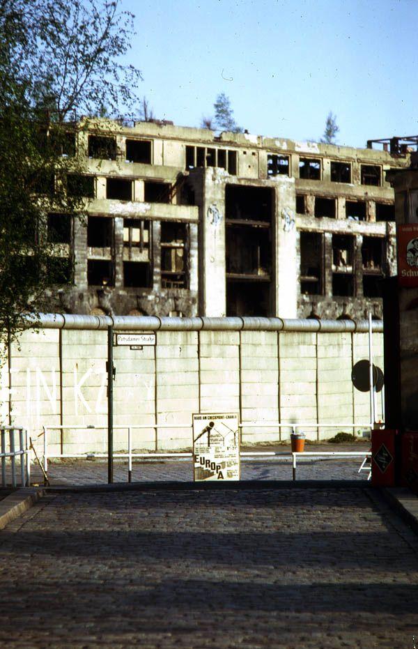 Aussenaufnahmen 1975 U F Teil I Berliner Mauer Aussenaufnahmen Berlin Geschichte