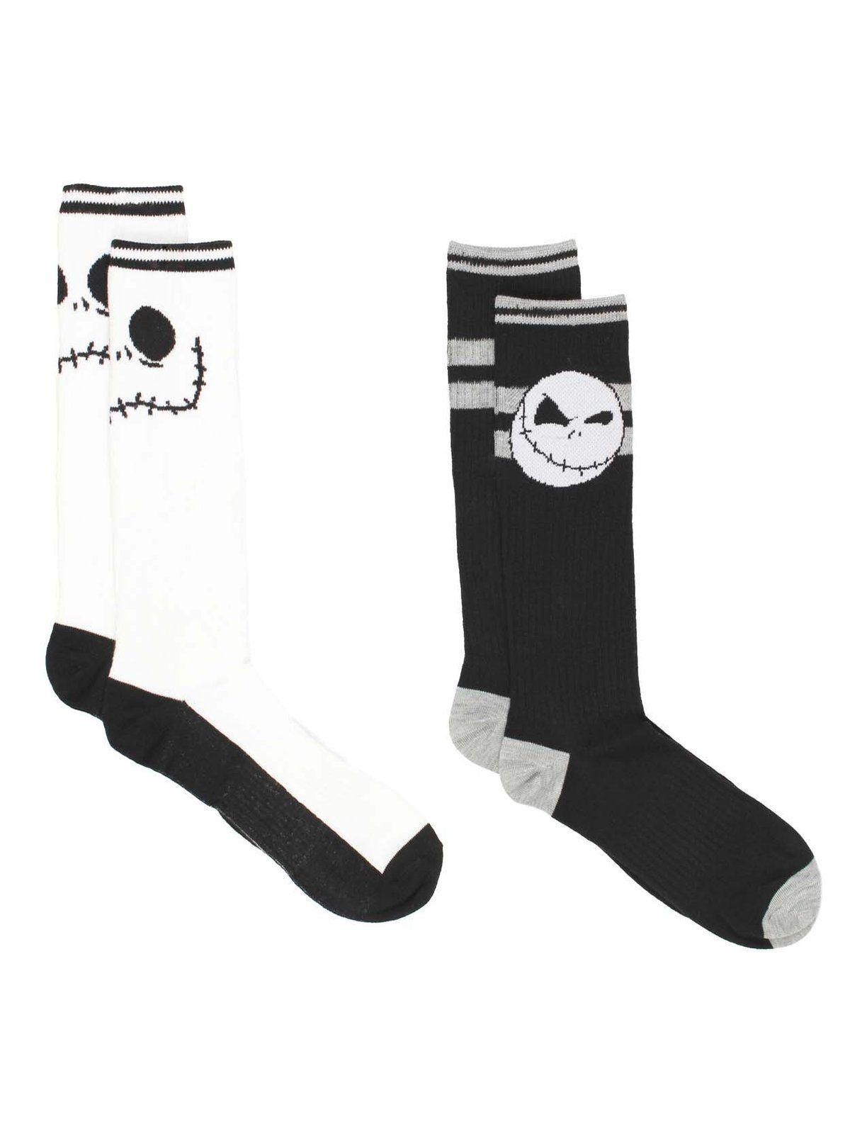 Nightmare Before Christmas Jack Skellington 5 Pack Ankle Socks