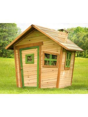 Cabane enfant ALICE en cèdre vernis naturel Cabanes Pinterest - Terrasse Bois Pilotis Prix