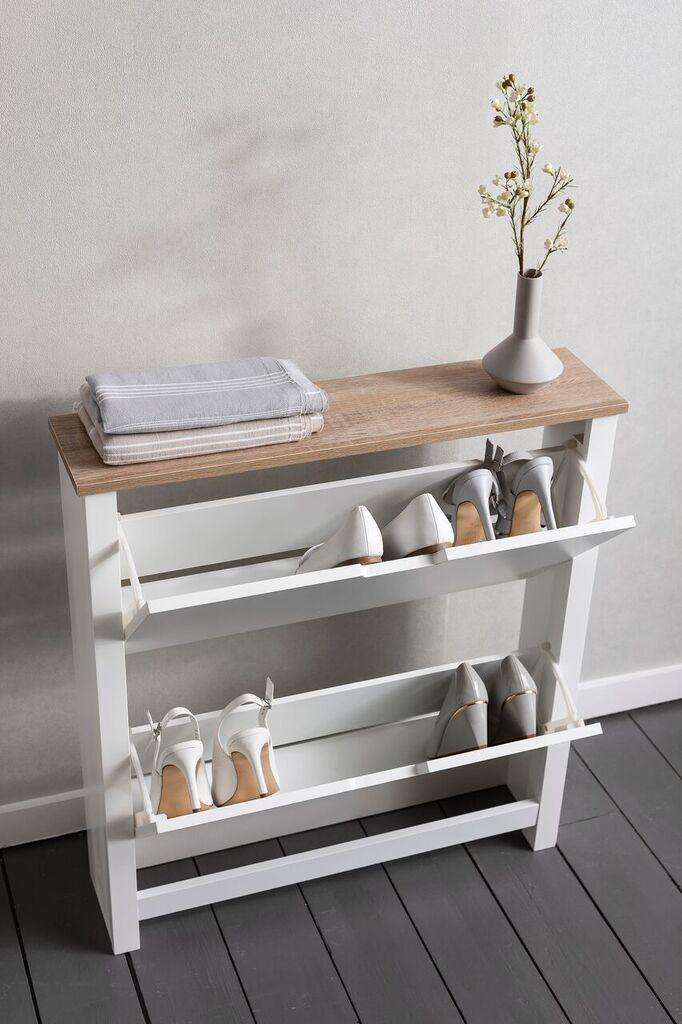 Noa and Nani Tromso Shoe Storage Unit in White Shoe Cabinet   £99.99   # ShoeStorage #Furniture #HomeDecor & Noa and Nani Tromso Shoe Storage Unit in White Shoe Cabinet   £99.99 ...