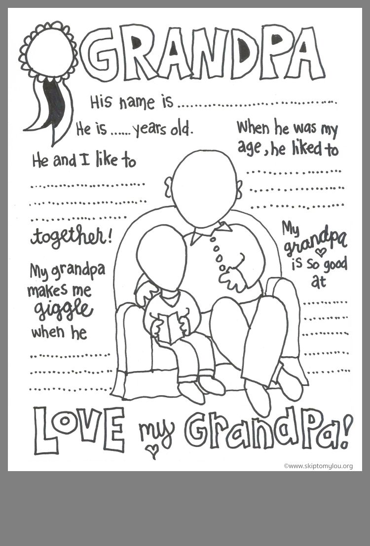 Idea By Kayla Stark On Eloise 3 Grandparents Day Activities