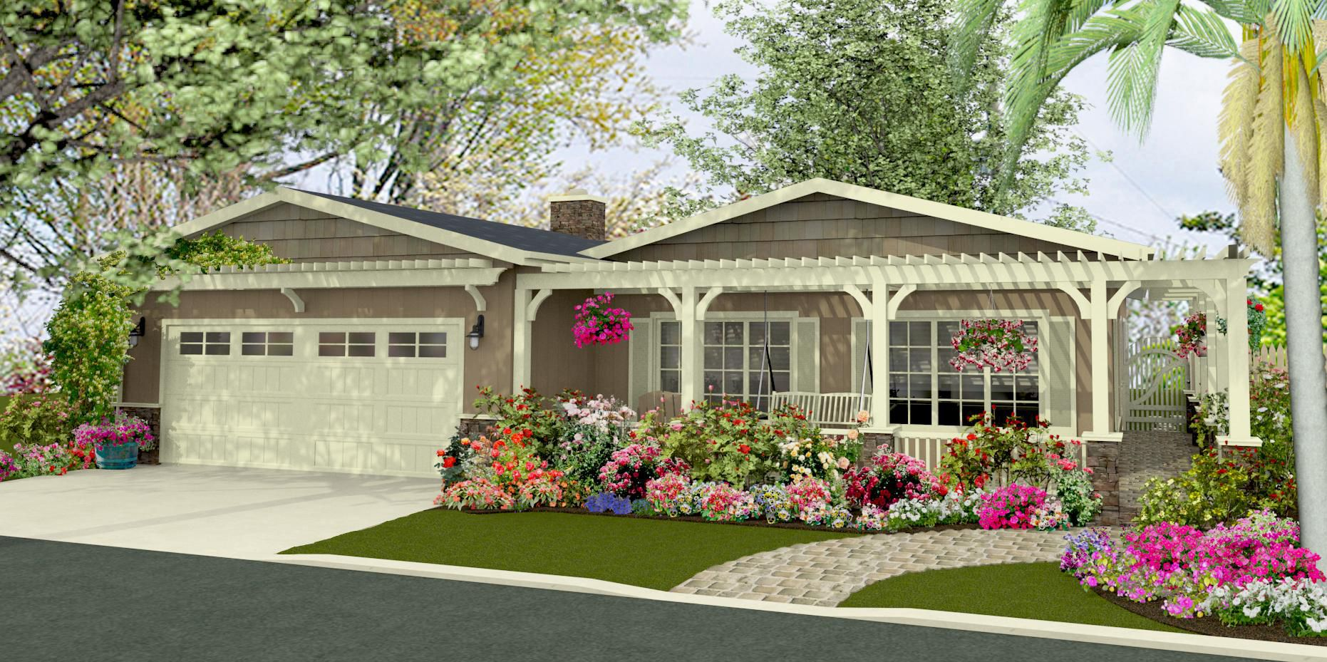 Renderings Manufactured Home Reno Porch Ideas Pinterest