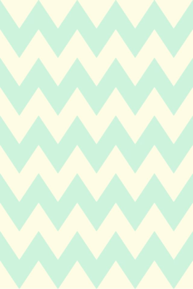 Mint And White IPhone Wallpaper