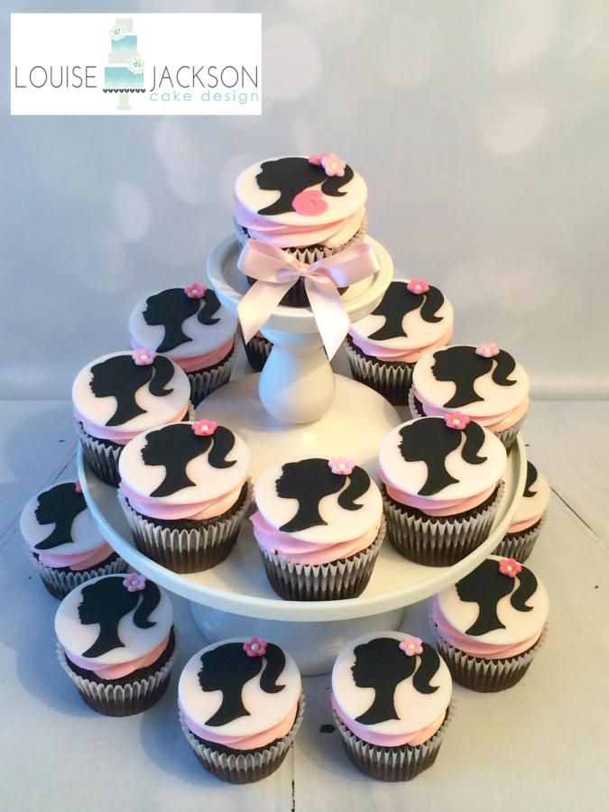 Cake Designs Using Cupcakes : Barbie cupcakes - Cake by Louise Jackson Cake Design ...