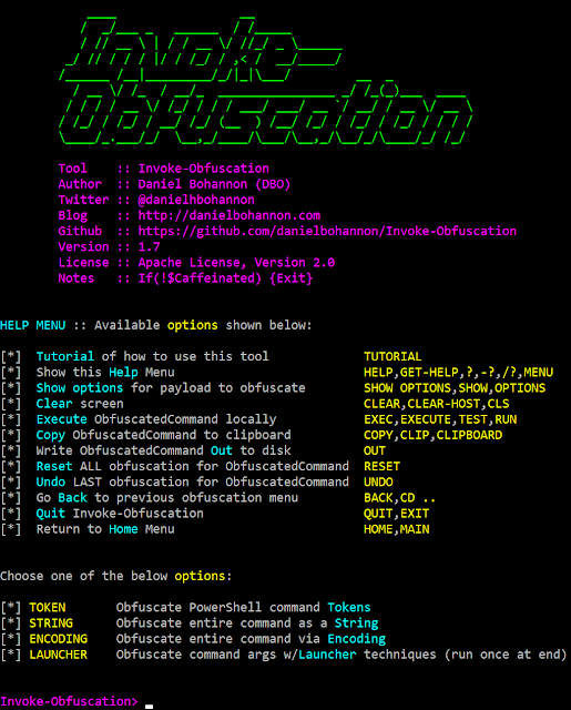 Invoke-Obfuscation - PowerShell Obfuscator in 2019 | Hacking