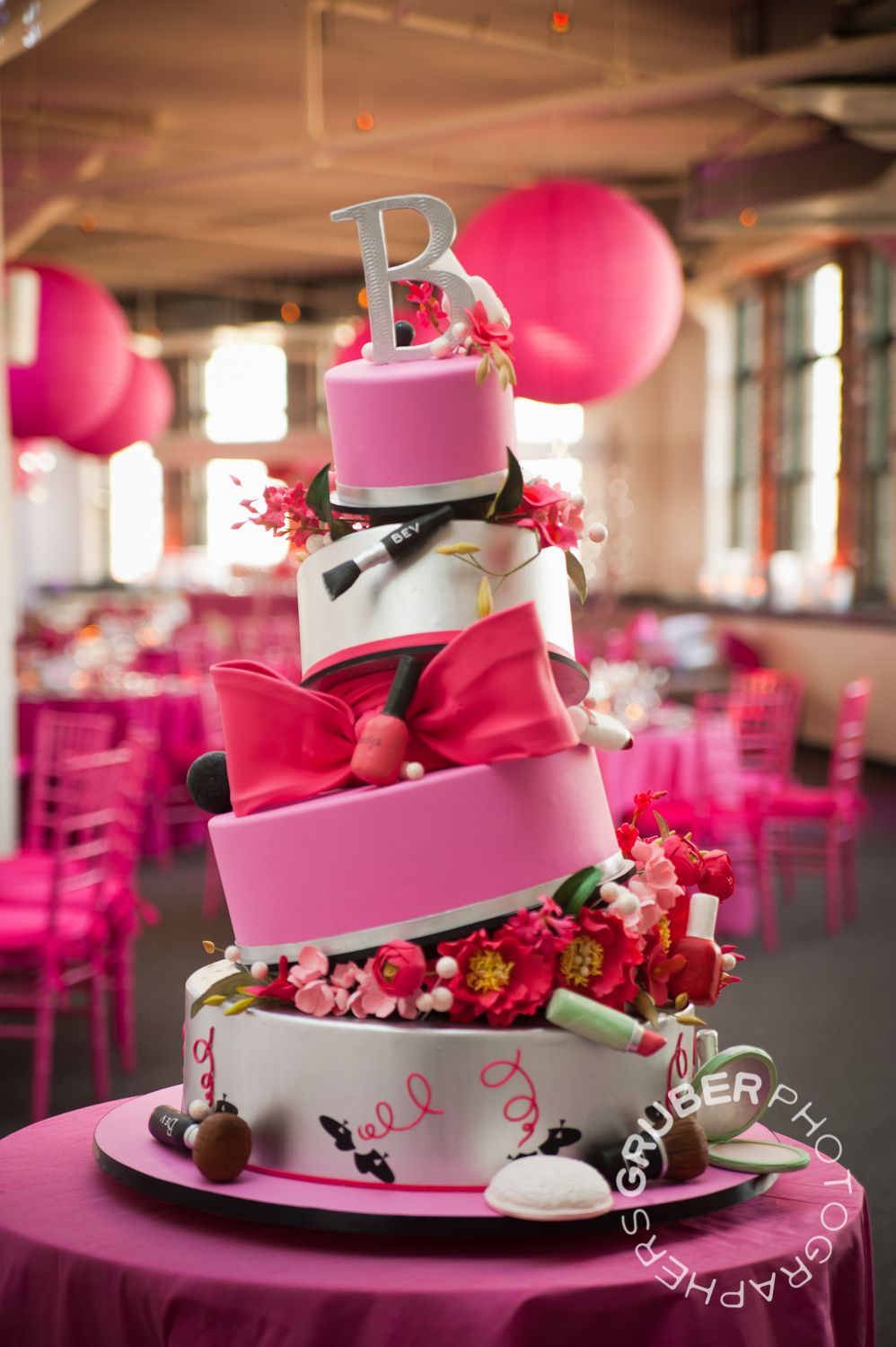 For Your Favorite Young Lady All Things Pink Really Makes A Splash Pink Cake Barbie Cake Amazing Cakes