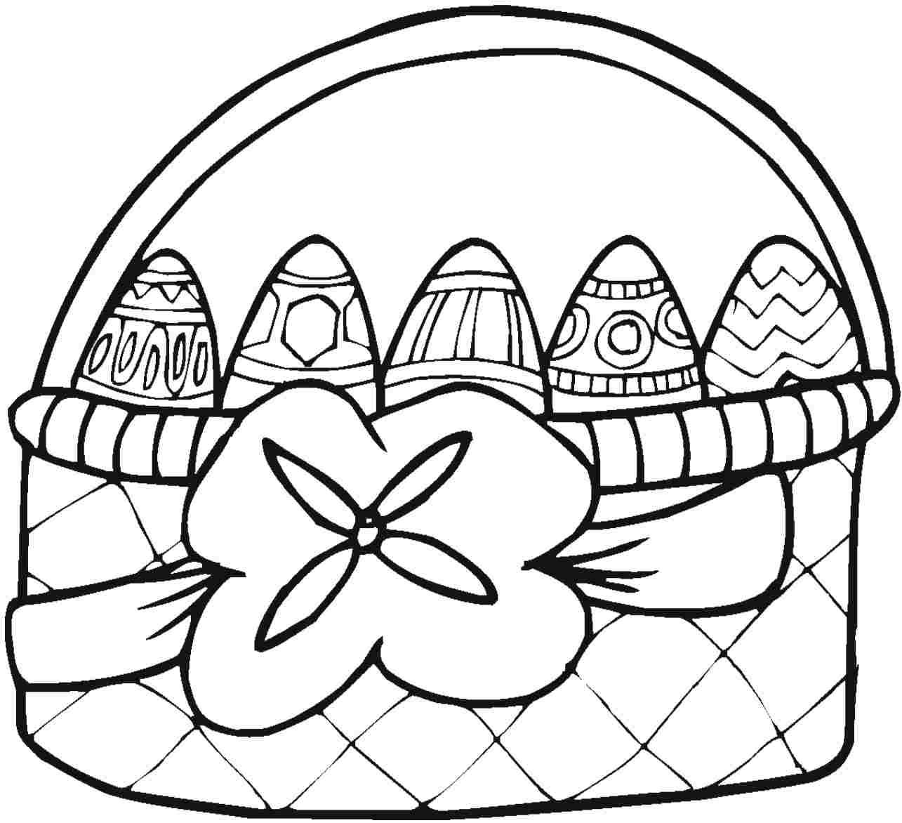 full page printable easter basket - Google Search | easter2015 ...