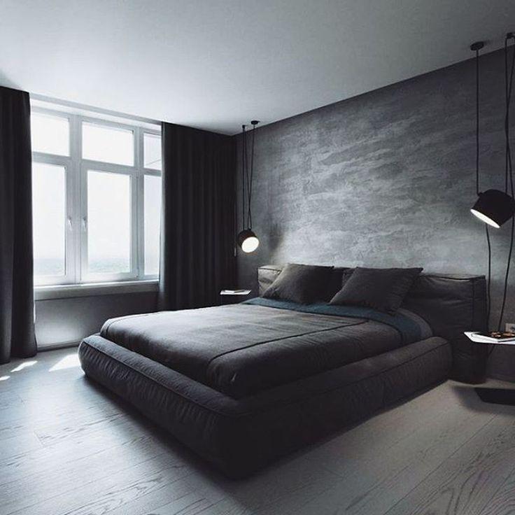 20+ moderne Schlafzimmer dekorieren Ideen für Männer