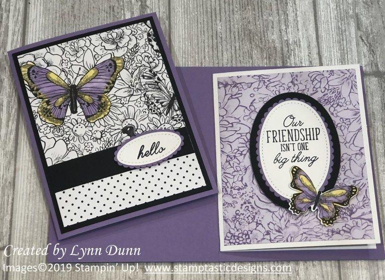 3d Pop Up Butterfly Card Lynn Dunn Butterfly Cards Butterfly Cards Handmade Card Tutorials